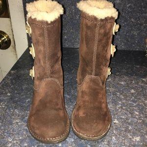UGG Women Kona Espresso Toggle Boot S#5183 Size 7